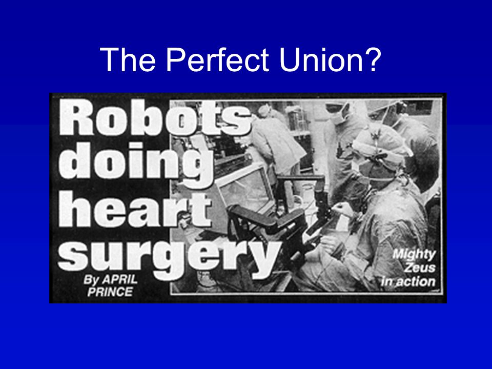 SPECIALTYPERSPECTIVE The Perfect Union