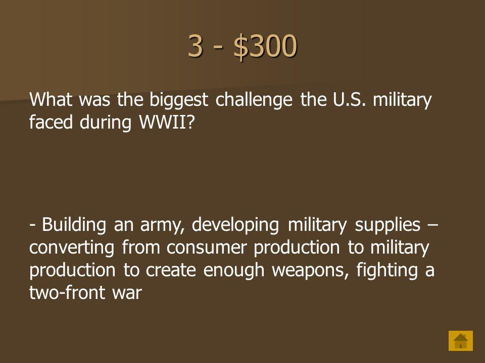3 - $200 Why did Truman bomb Hiroshima.
