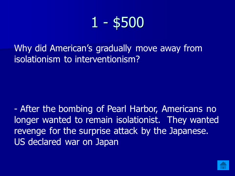 1 - $400 Give 3 specific examples of German and Japanese aggression.