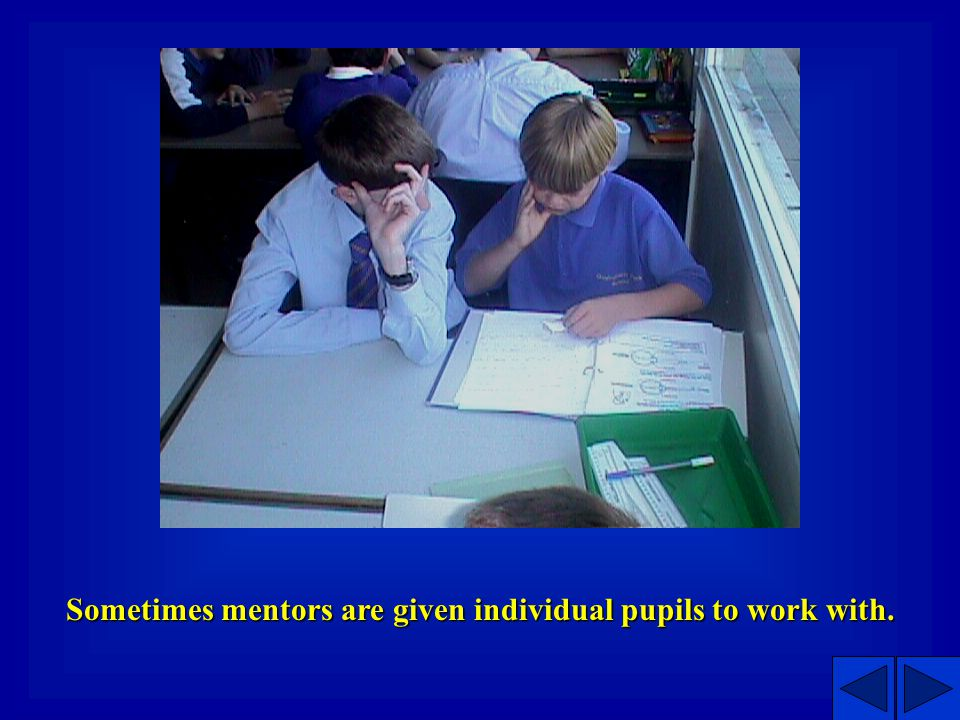 The Project in Operation Mentors meet with mentees 3-5 times between April and July in the primary school school.