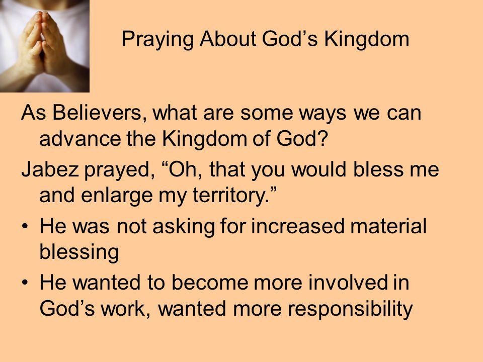 Praying About God's Kingdom Philip.