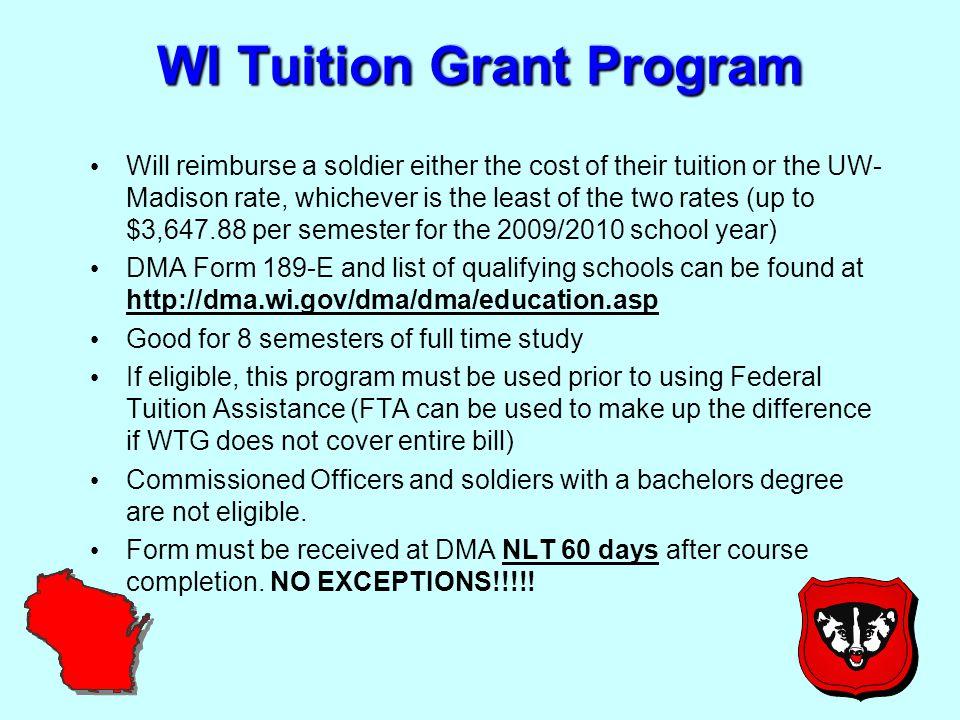 9 GI Bill Programs CH 1606 CH 1607 CH 30 AD Post 9/11 GI Bill GI Bill Kicker