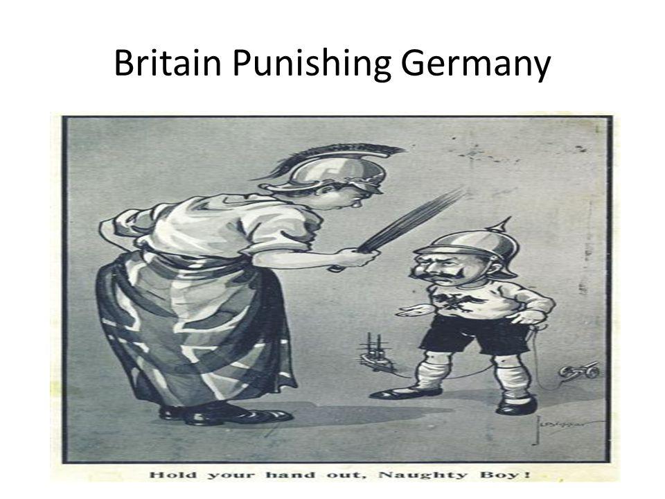 Britain Punishing Germany