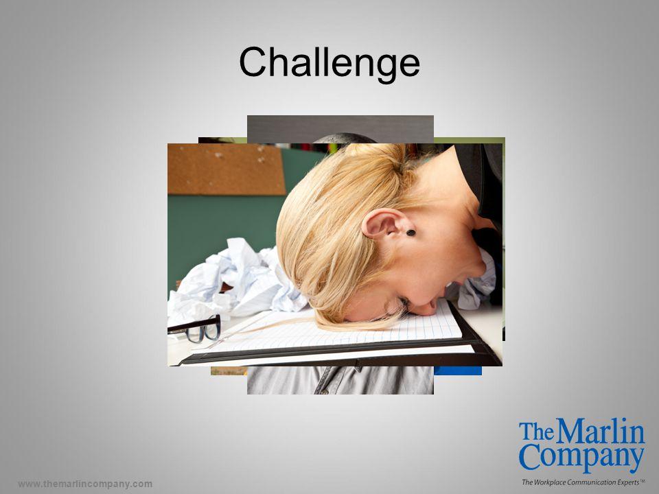 www.themarlincompany.com Challenge