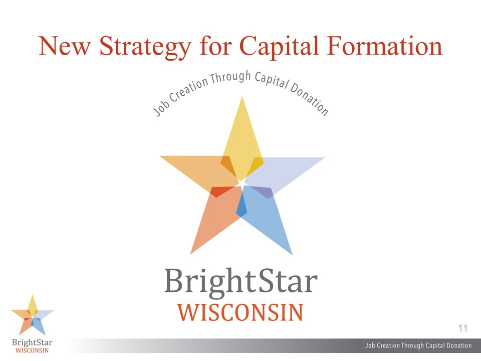 11 New Strategy for Capital Formation