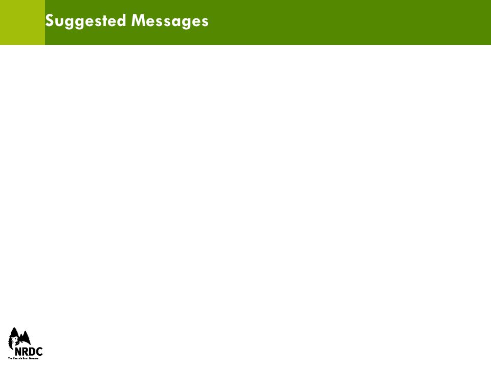 Suggested Messages