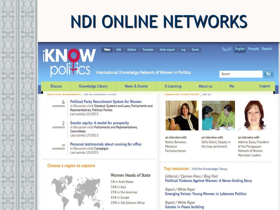 NDI ONLINE NETWORKS