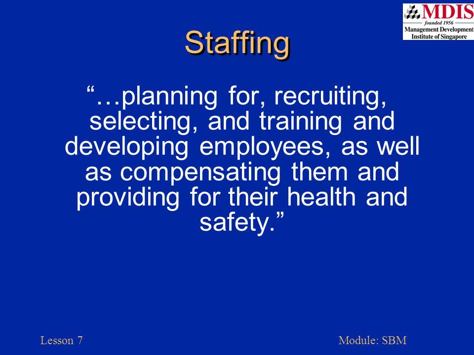 Lesson 7Module: SBM Line Organization Small Business Management, McGraw-Hill, p. 270