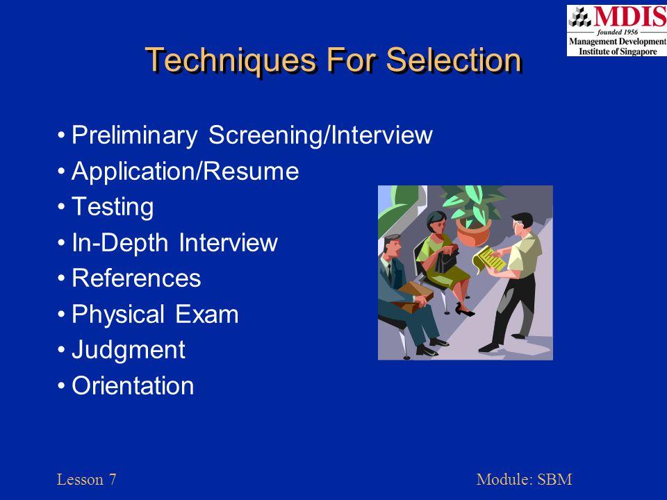 Lesson 7Module: SBM Organizational Concepts Delegation Span Of Control Specialization