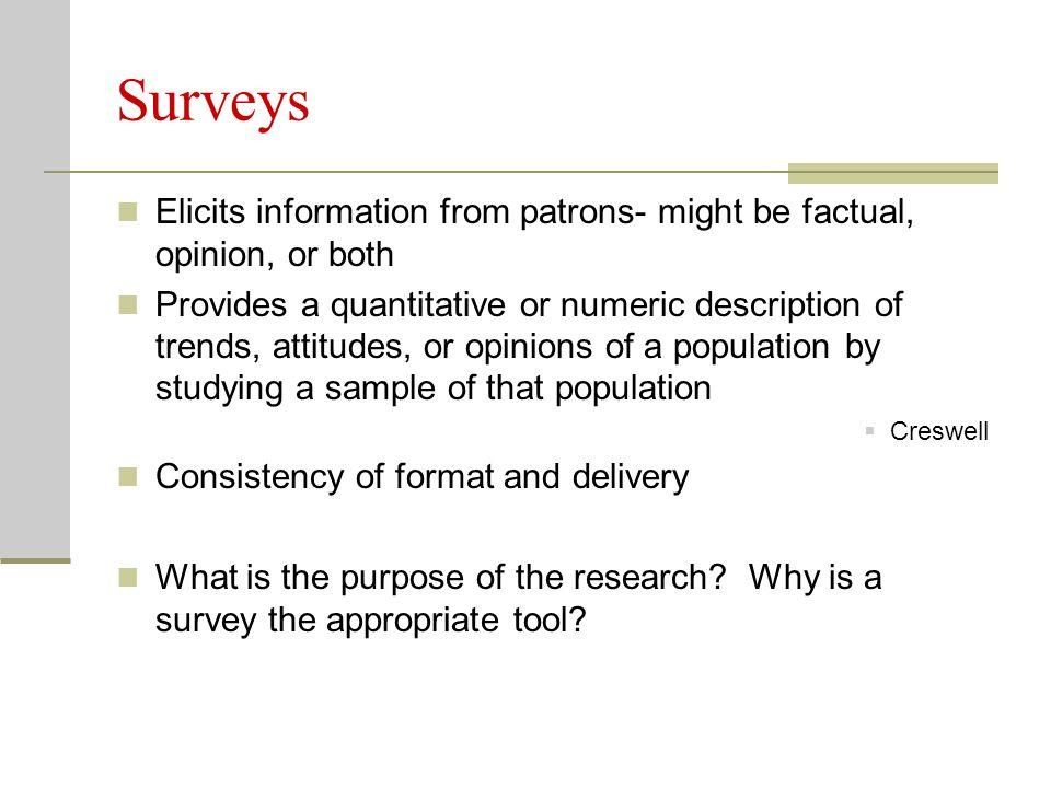 Survey Types Questionnaire Paper-based (i.e.