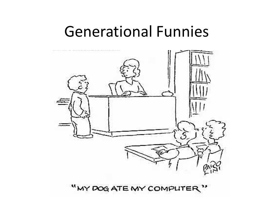 Generational Funnies