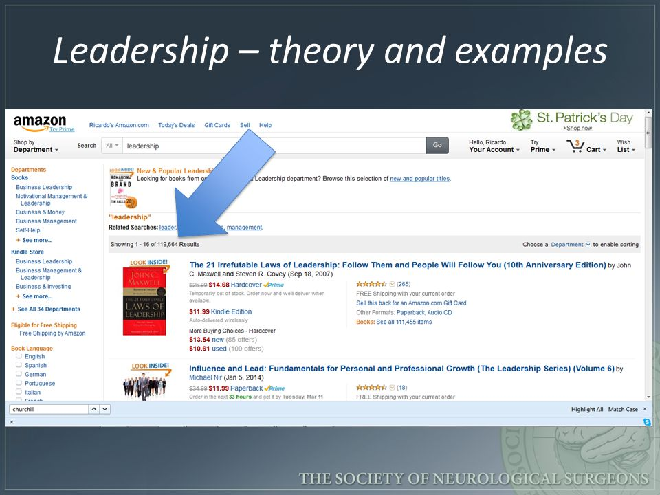 Leadership – theory and examples