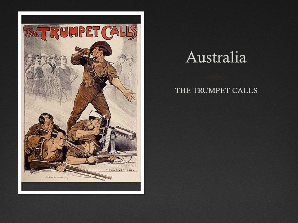 Australia THE TRUMPET CALLS