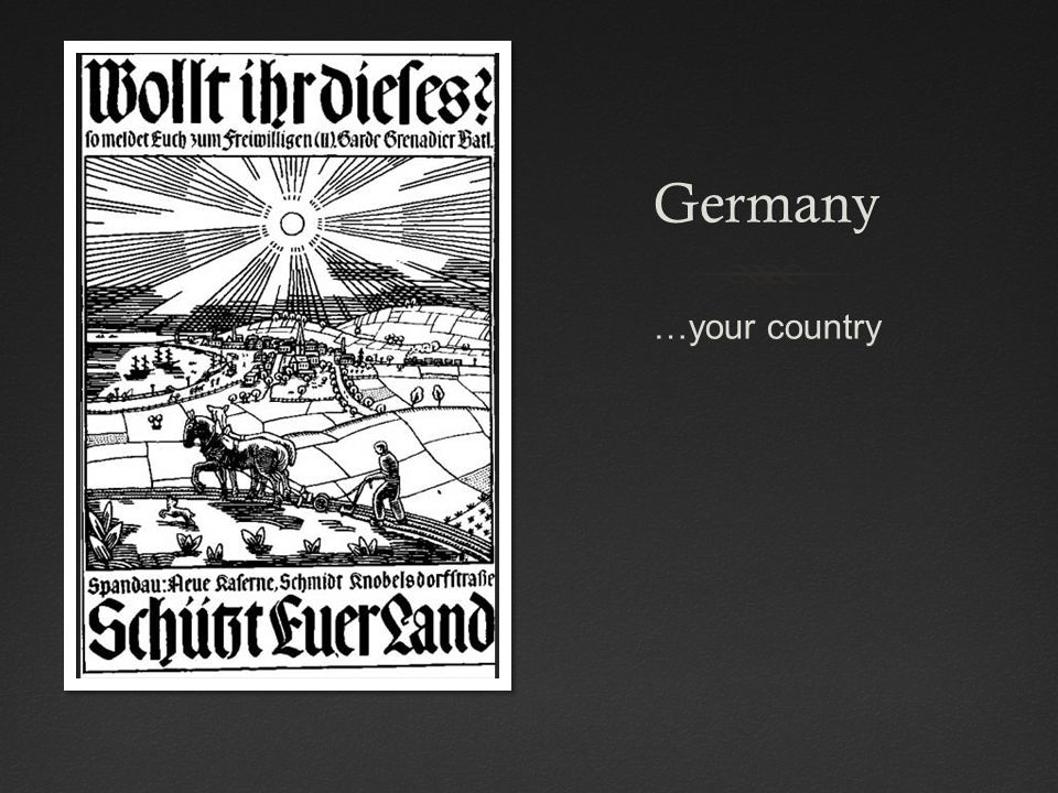 Germany …your country