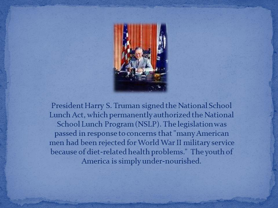 President Harry S.