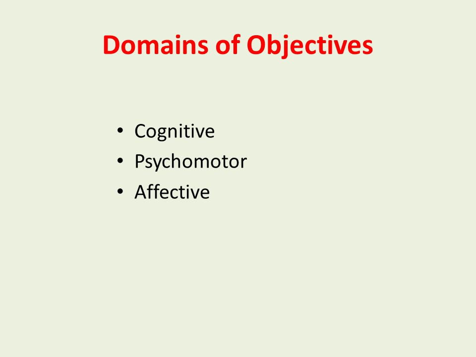 Characteristics of a good instructional objective Stated in terms of student's behaviour Specific- Action verb Observable Measurable Realistic Time fr