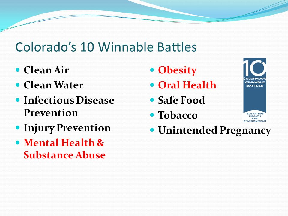Oral Health Winnable Battle Collaborative Tri-agency support Five dozen partners Monthly meetings Shared initiatives Shared messaging Shared resources Focused efforts