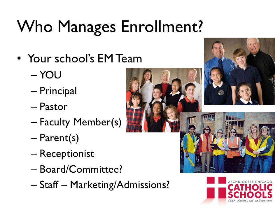 Who Manages Enrollment.