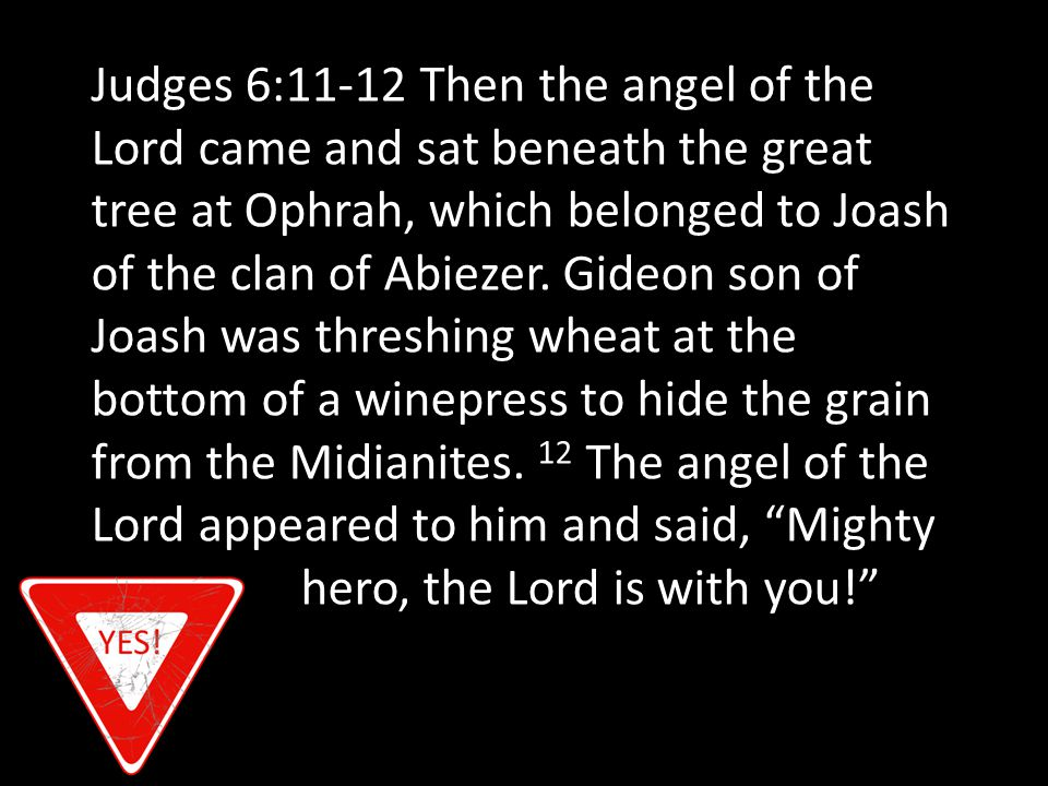ENLIST STRENGTH Judges 6:33 Soon afterward the armies of Midian, Amalek, and the people of the east formed an alliance against Israel and crossed the Jordan, camping in the valley of Jezreel.