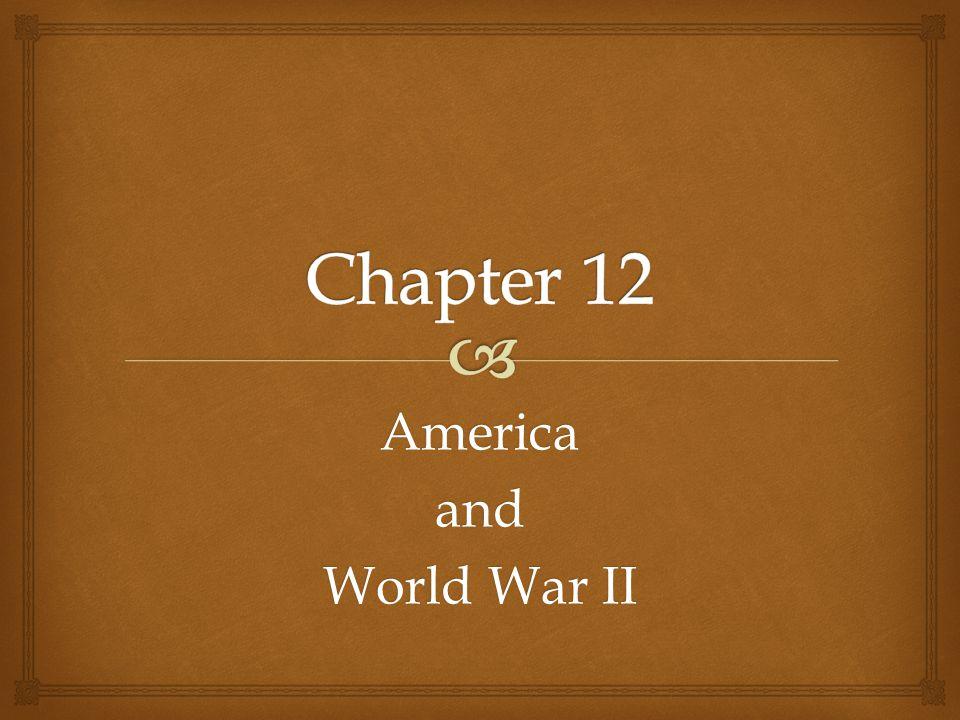 Americaand World War II