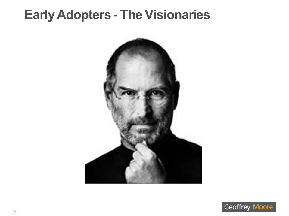 Early Adopters - The Visionaries 5
