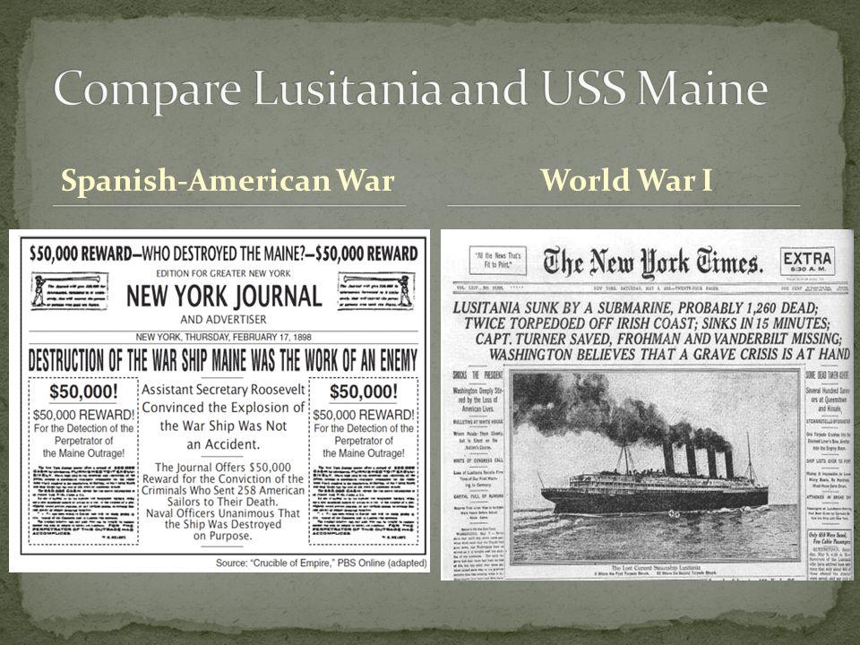 Spanish-American WarWorld War I