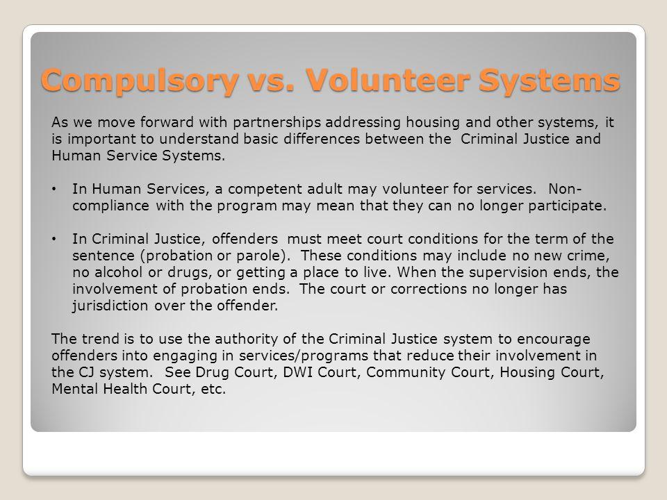 Compulsory vs.