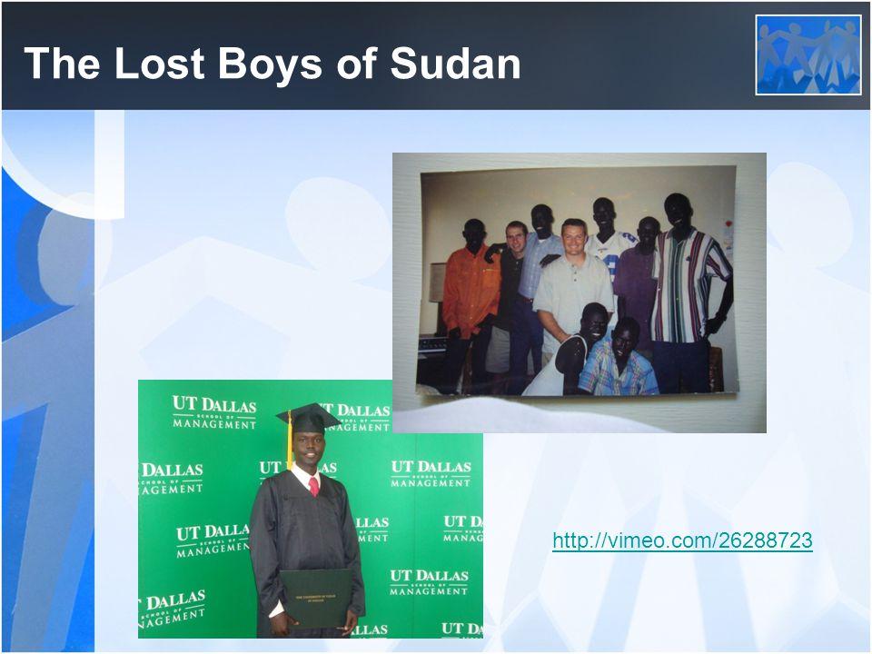 The Lost Boys of Sudan http://vimeo.com/26288723