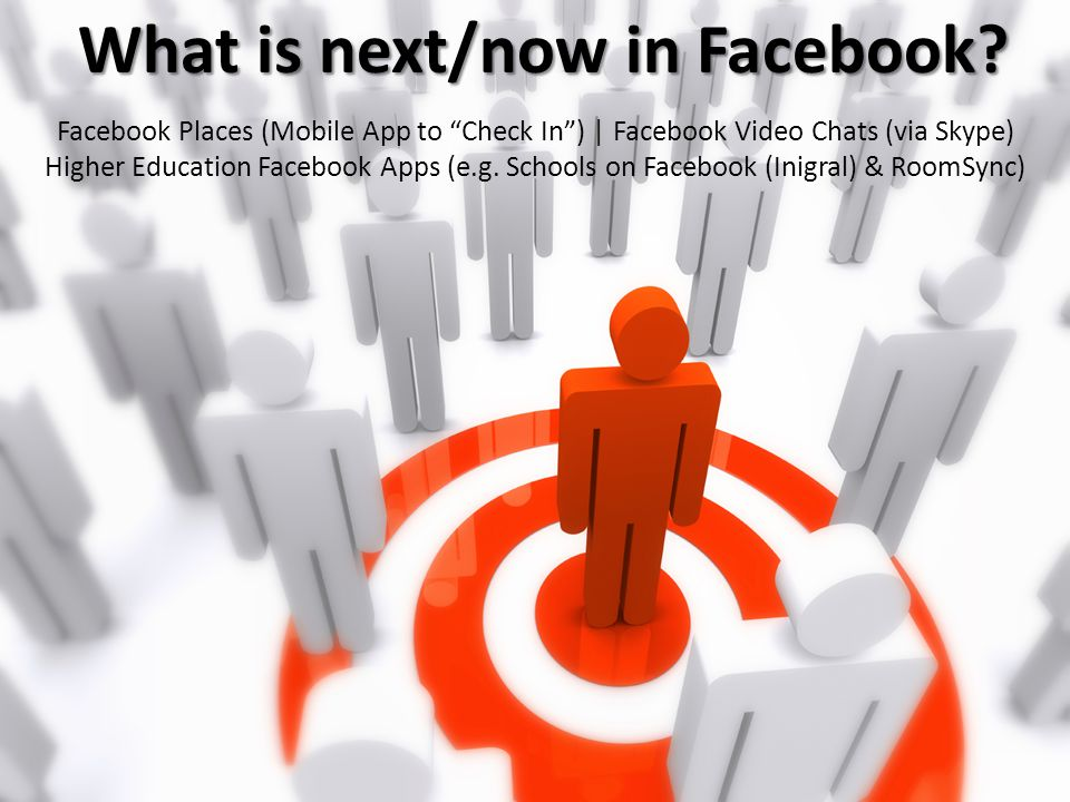 """Facebook Places (Mobile App to """"Check In"""") 