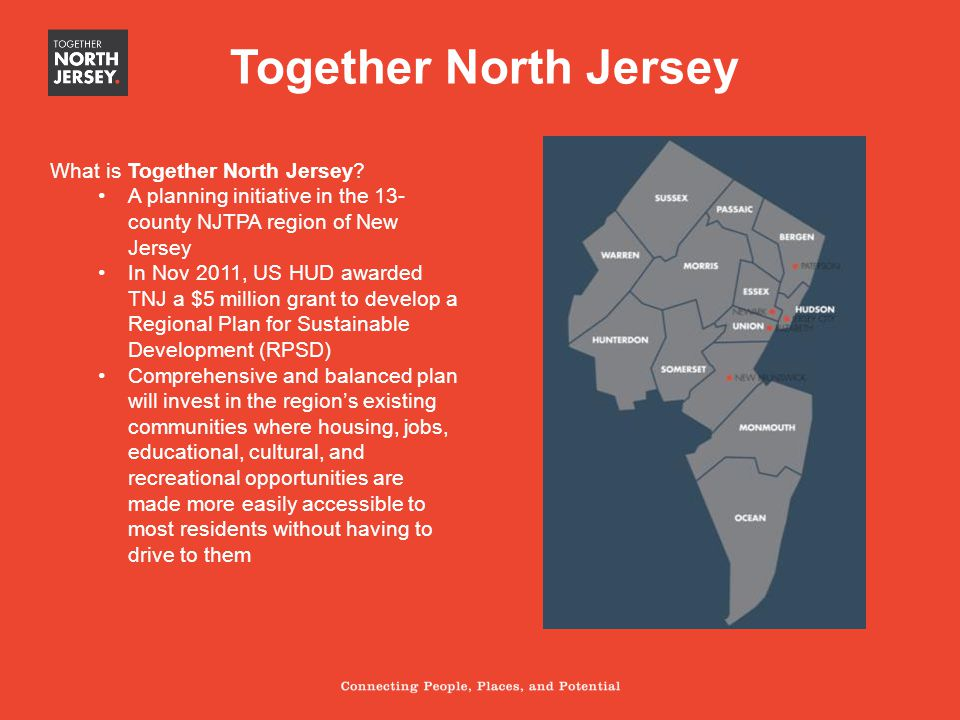 Together North Jersey What is Together North Jersey.