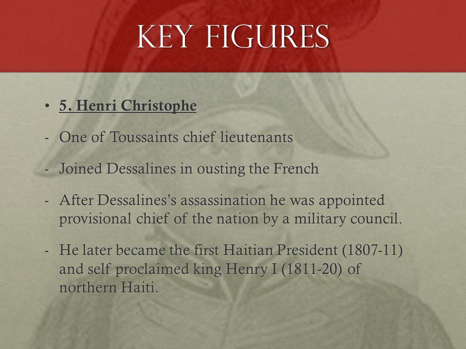 Key Figures 5. Henri Christophe 5.