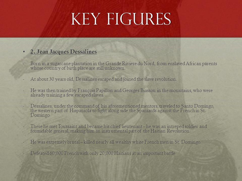 Key Figures 2. Jean Jacques Dessalines 2.