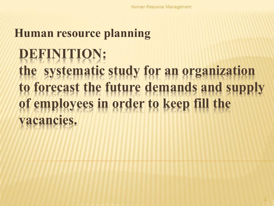 Conti… 12 Human Resource Management