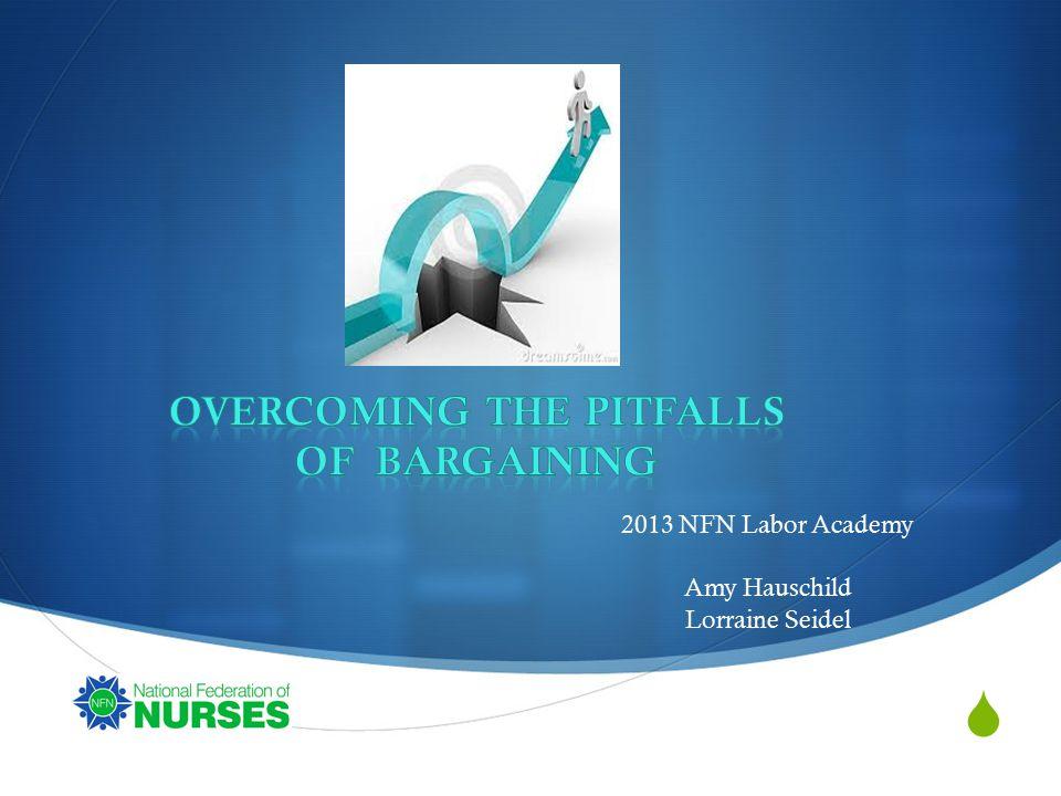  2013 NFN Labor Academy Amy Hauschild Lorraine Seidel