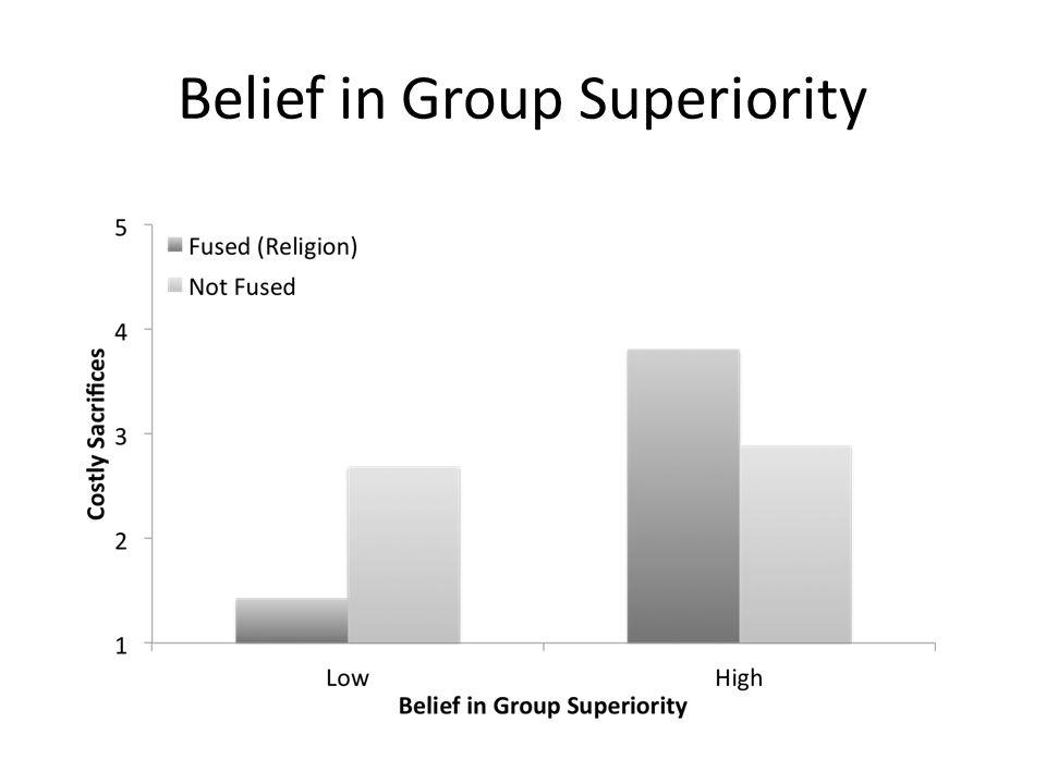 Belief in Group Superiority