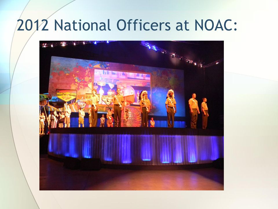 2012 National Officers at NOAC: