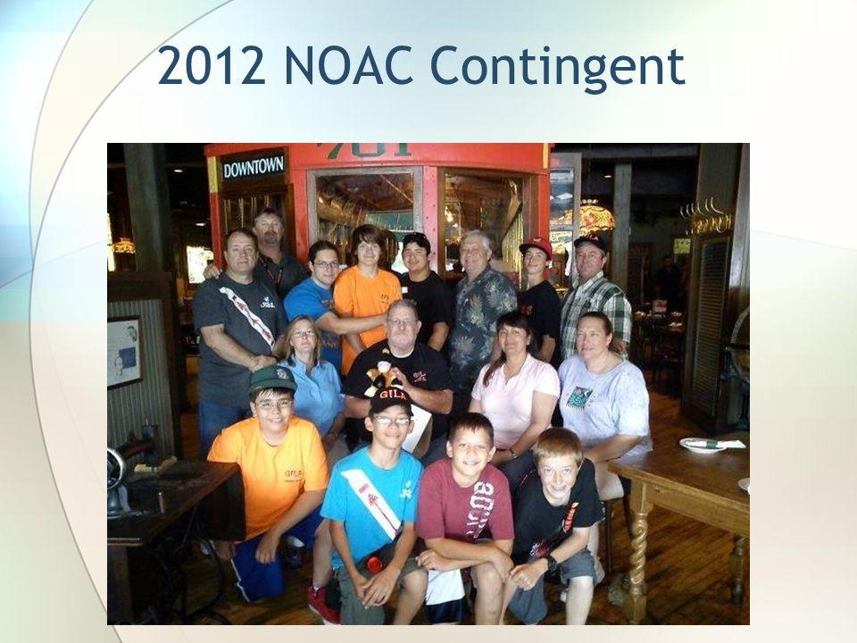 2012 NOAC Contingent