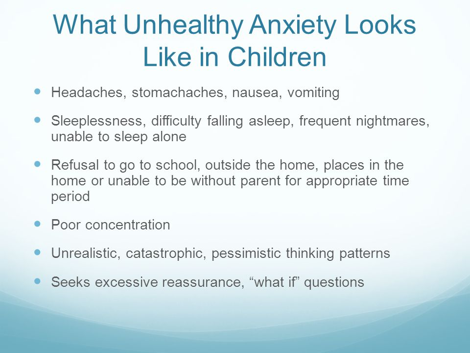 Reasons Not to Fear Anxiety Interventions for anxiety work.