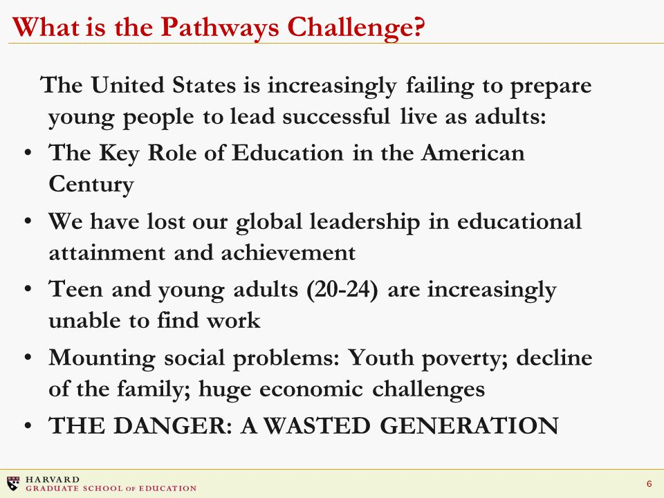 6 What is the Pathways Challenge.