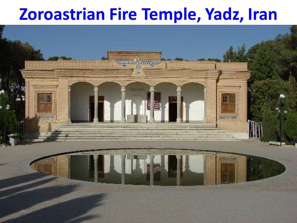 Zoroastrian Fire Temple, Yadz, Iran