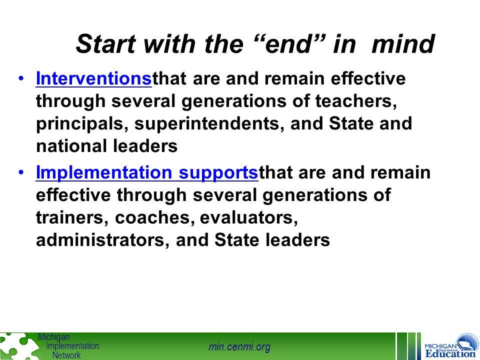 min.cenmi.org Michigan Implementation Network improvementcycles