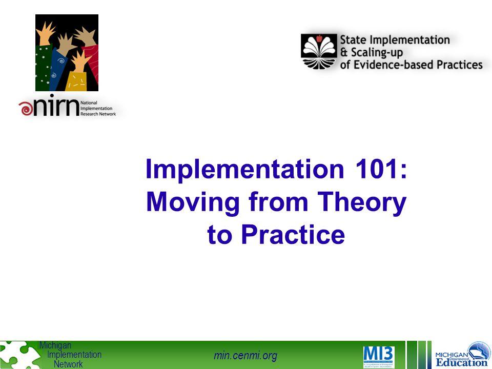 min.cenmi.org Michigan Implementation Network