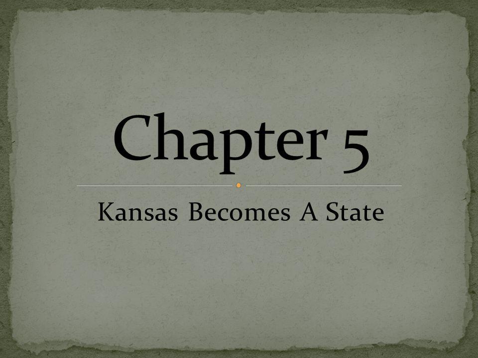 January 29, 1861, Kansas became a state.
