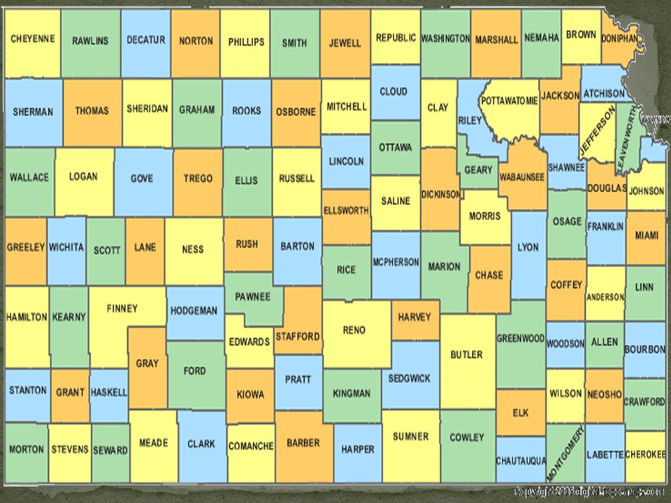 When Kansas became a state, it had to create a state government based on the Wyandotte Constitution.