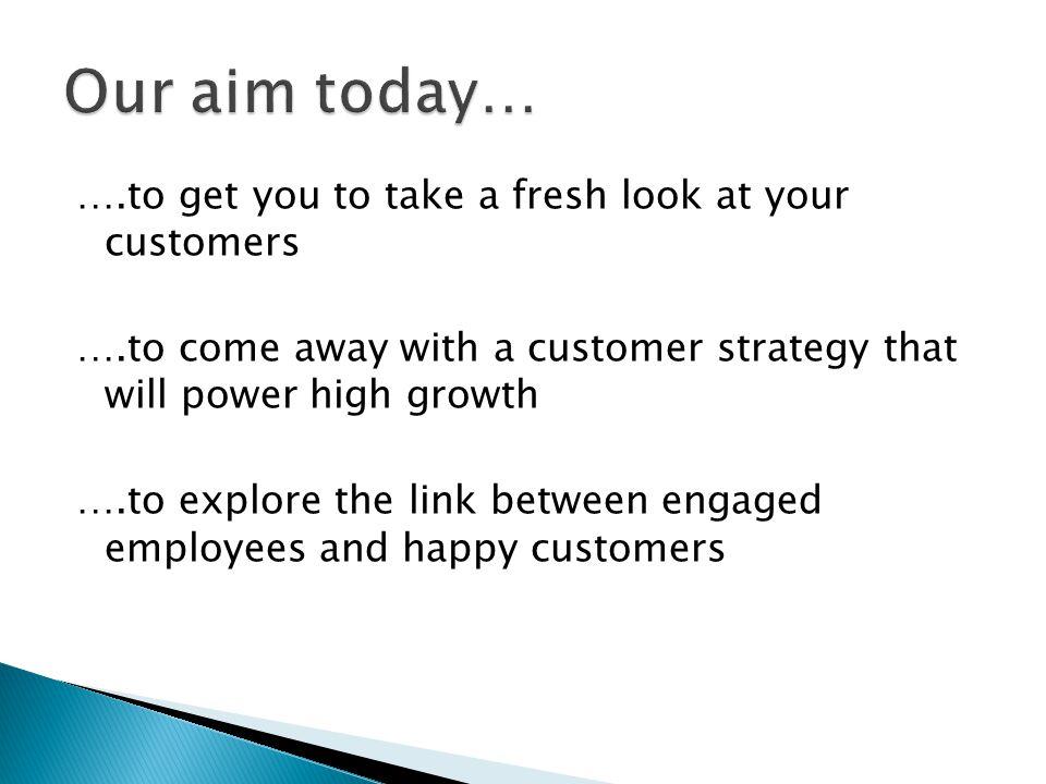 Many marketing strategies are product led.