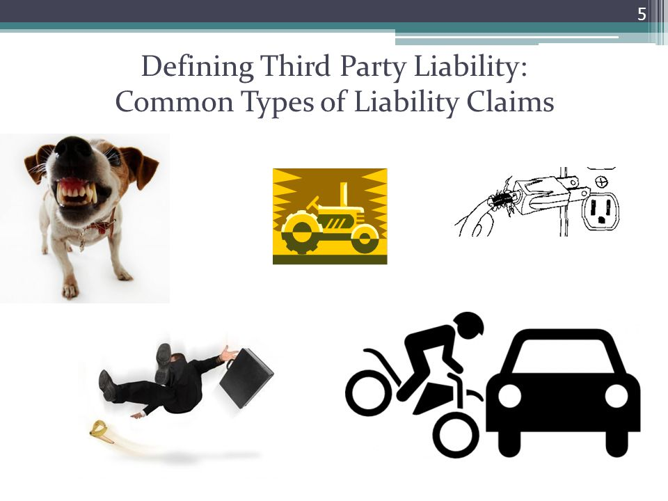 5 Defining Third Party Liability: Common Types of Liability Claims