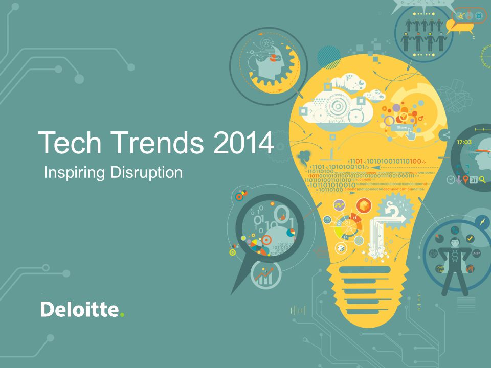 Inspiring Disruption Tech Trends 2014