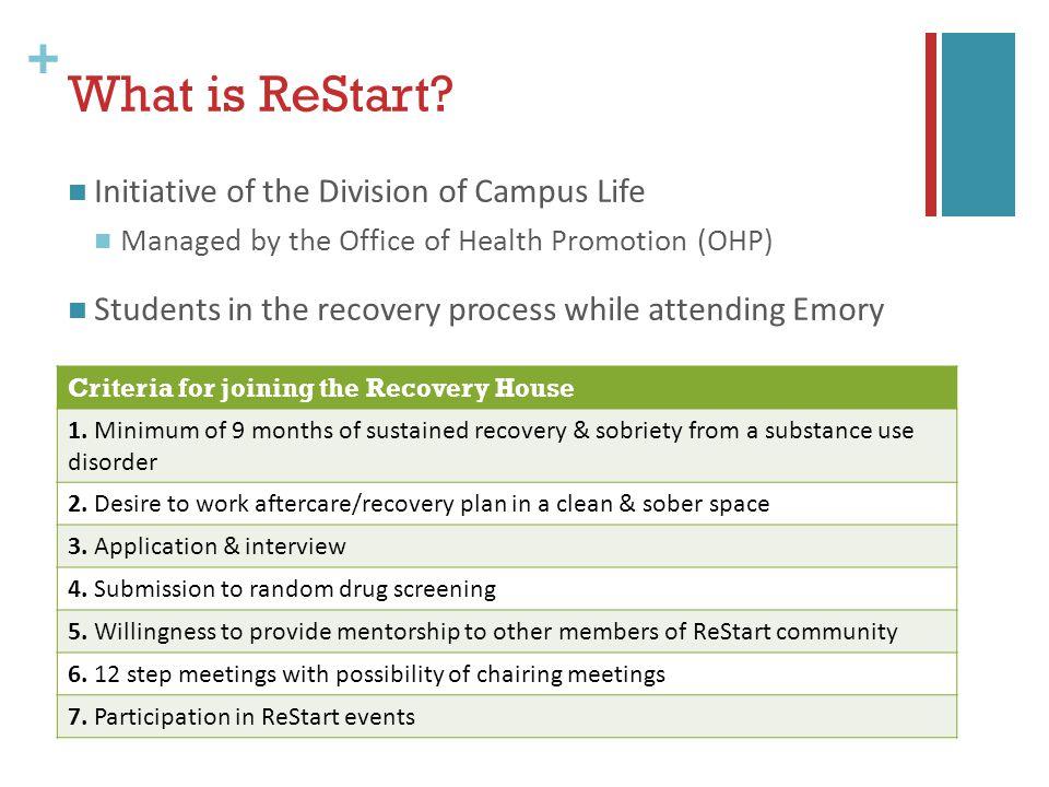 + What is ReStart.