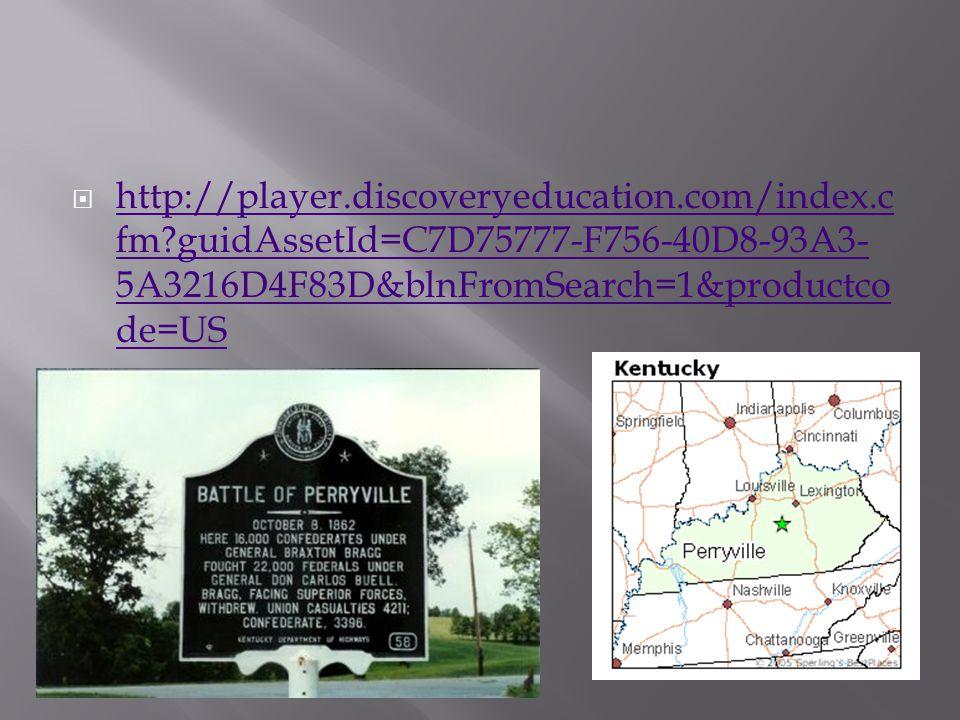  http://player.discoveryeducation.com/index.c fm?guidAssetId=C7D75777-F756-40D8-93A3- 5A3216D4F83D&blnFromSearch=1&productco de=US http://player.discoveryeducation.com/index.c fm?guidAssetId=C7D75777-F756-40D8-93A3- 5A3216D4F83D&blnFromSearch=1&productco de=US