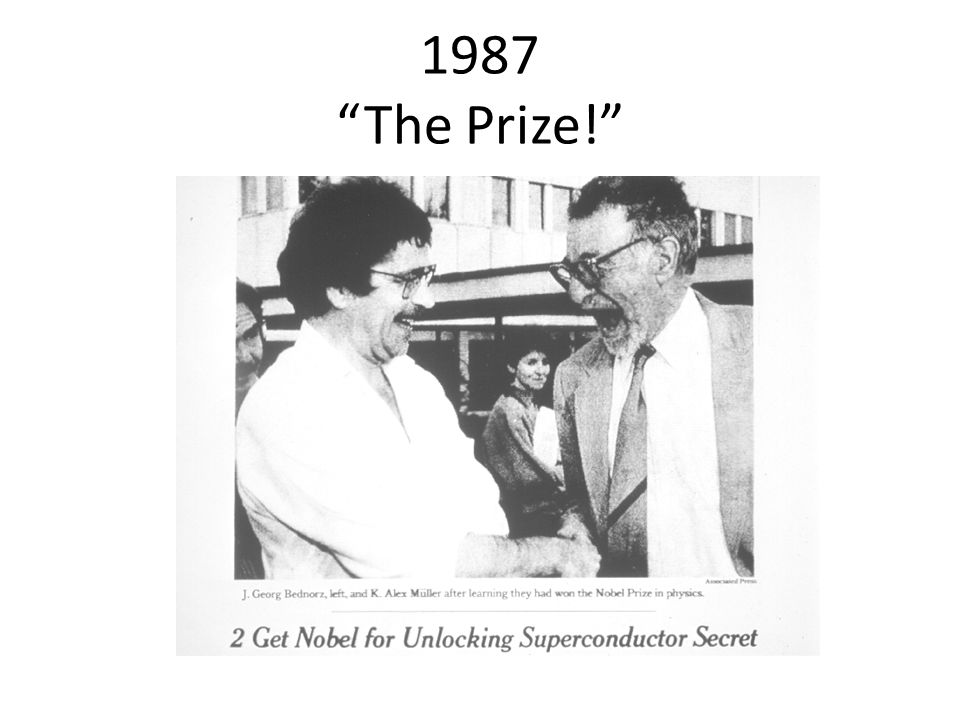 1987 The Prize!